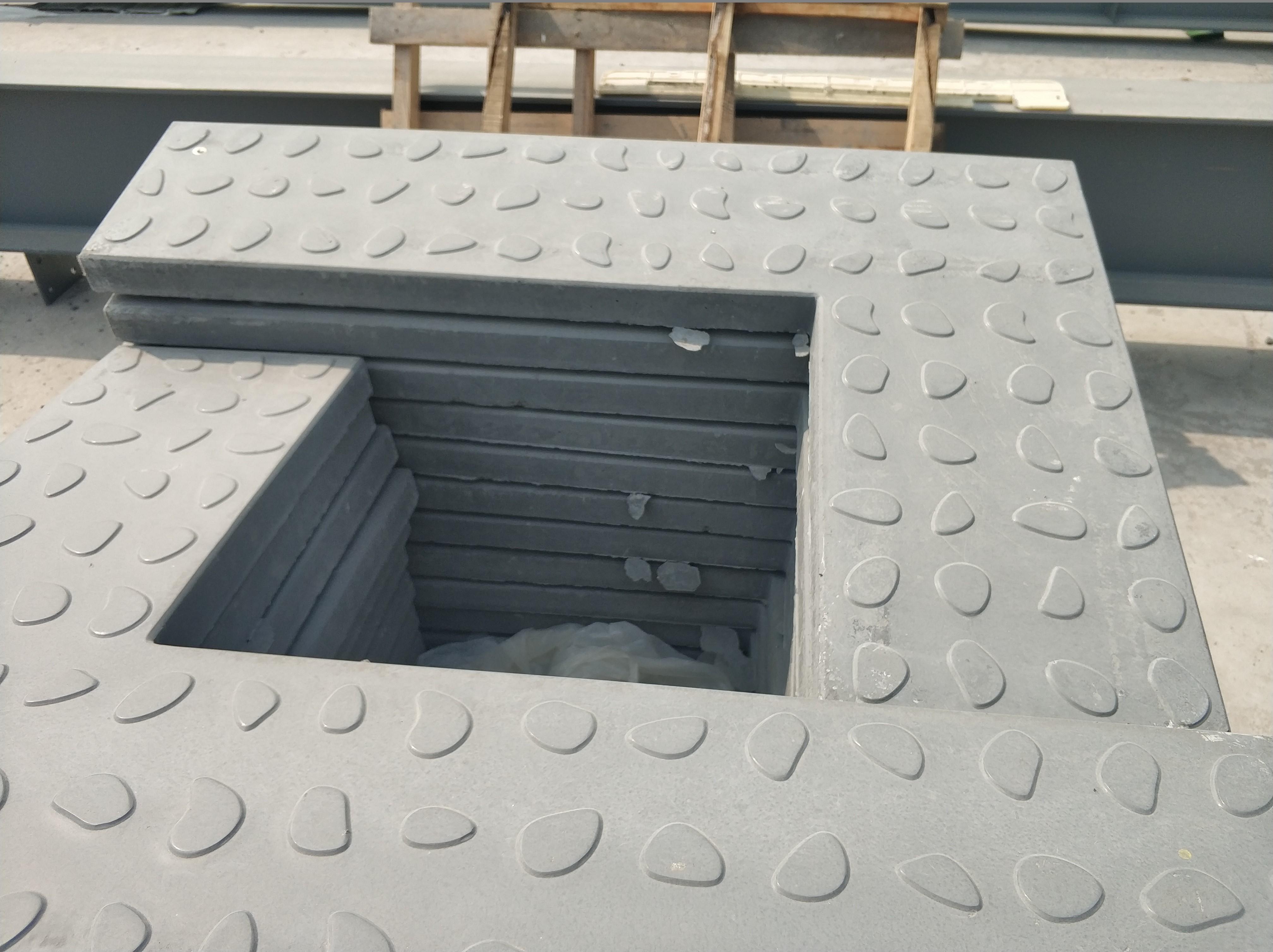 水沟盖板怎么做到防滑